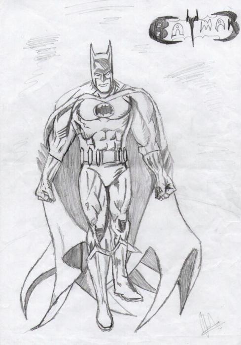 Batman by Vinnysv